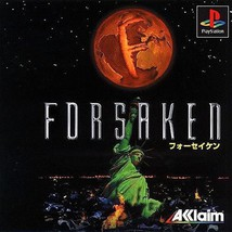 Forsaken, Sony Playstation One PS1, Import Japan Game - $29.99