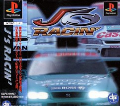 J's Racin', Sony Playstation One PS1, Import Japan Game - $19.99