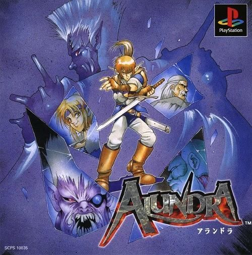 Alundra 1 (Adventures of Alundra), Sony Playstation One PS1, Import Japan Game