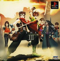 Arc The Lad v3, Sony Playstation One PS1, Import Japan Game - $19.99
