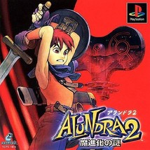 Alundra 2 (Mystery of Machinevolution), Playstation One PS1, Import Japa... - $19.99