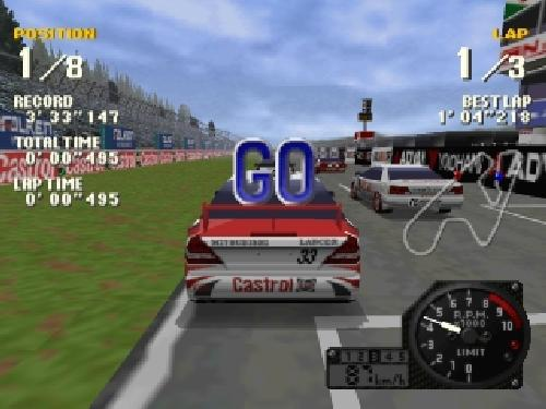 J's Racin', Sony Playstation One PS1, Import Japan Game