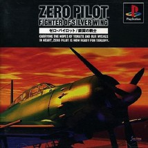 Zero Pilot - Fighter Of Silver Wing, Sony Playstation One PS1, Import Ja... - $19.99