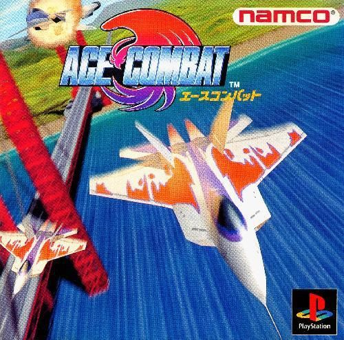 Ace Combat v1, Sony Playstation One PS1, Import Japan Game