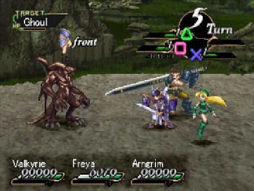 Valkyrie Profile, Sony Playstation One PS1, Import Japan Game
