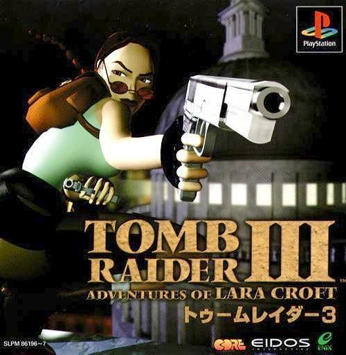 Tomb Raider 3 - Adventures of Lara Croft, Playstation One PS1, Import Japan Game