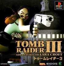 Tomb Raider 3 - Adventures of Lara Croft, Playstation One PS1, Import Ja... - $24.99