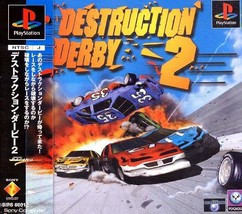 Destruction Derby 2, Sony Playstation One PS1, Import Japan Game - $19.99