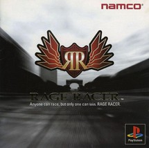 Rage Racer, Playstation One PS1, Import Japan Game - $19.99