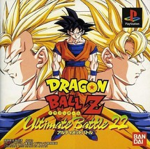 Dragon Ball Z - Ultimate Battle 22, Sony Playstation One PS1, Import Jap... - $19.99