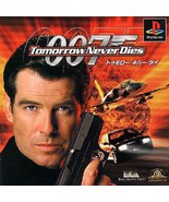007 - Tomorrow never dies, Sony Playstation One PS1, Import Japan Game - $19.99