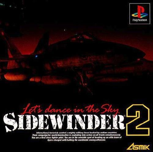 Sidewinder 2 - Let's Dance in the Sky, Playstation One PS1, Import Japan Game