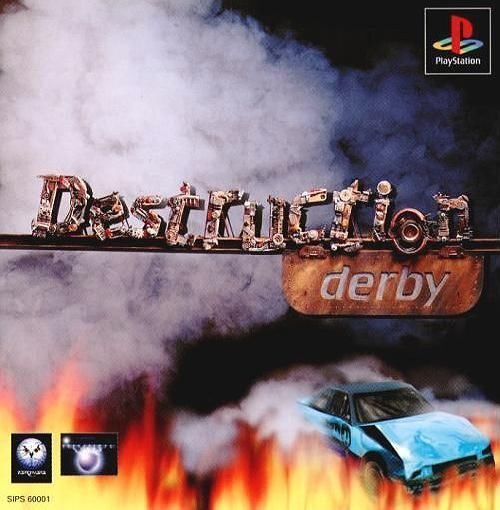 Destruction Derby 1, Sony Playstation One PS1, Import Japan Game