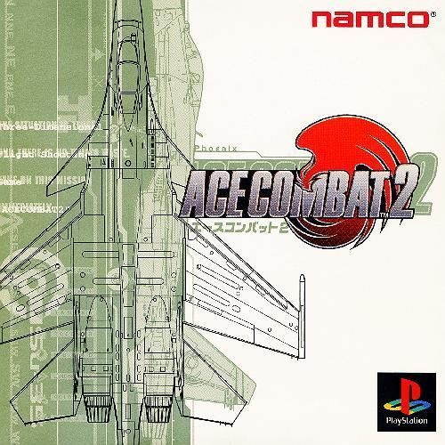 Ace Combat v2, Sony Playstation One PS1, Import Japan Game