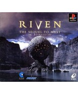 Riven, The Sequel To Myst (5 disc set), Playsta... - $24.99