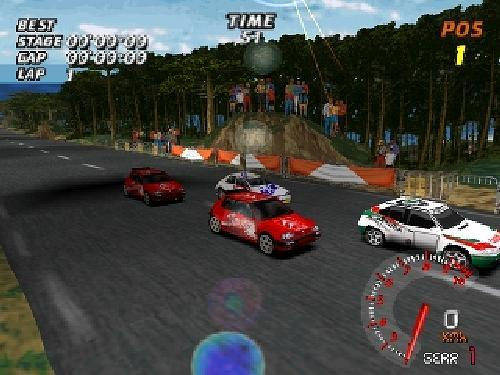 V-Rally 1 - Championship Edition, Sony Playstation One PS1, Import Japan Game