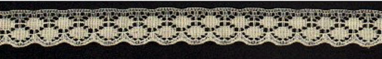 "3/4"" Flat Cream Lace (4 yards) 25 cents/yard"