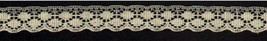 "3/4"" Flat Cream Lace (4 yards) 25 cents/yard image 1"