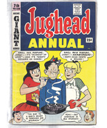 Archie's Pal Jughead Annual 7th Issue 1959 Edition Giant Series Comic Book  - $32.99