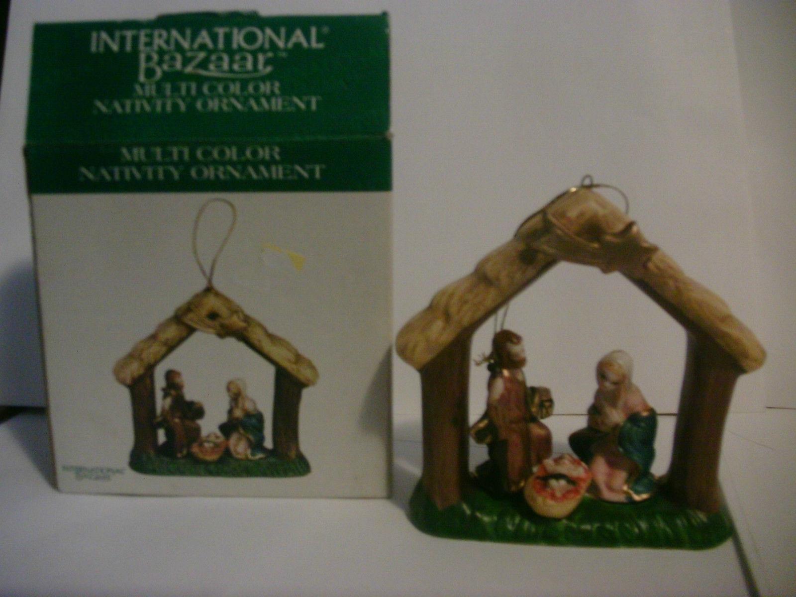 Nativity Ornament Multi Color International Bazaar image 2