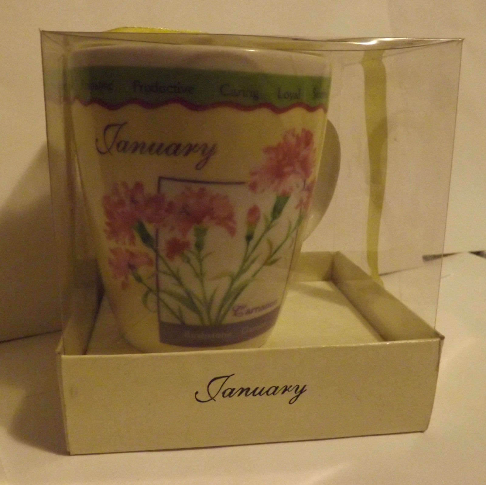January Birth Month Mug