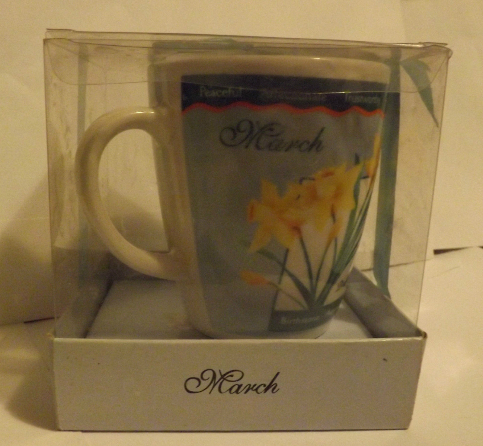 March Birth Month Mug