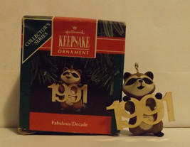 Hallmark Keepsake Ornament Fabulous Decade 1991 image 2