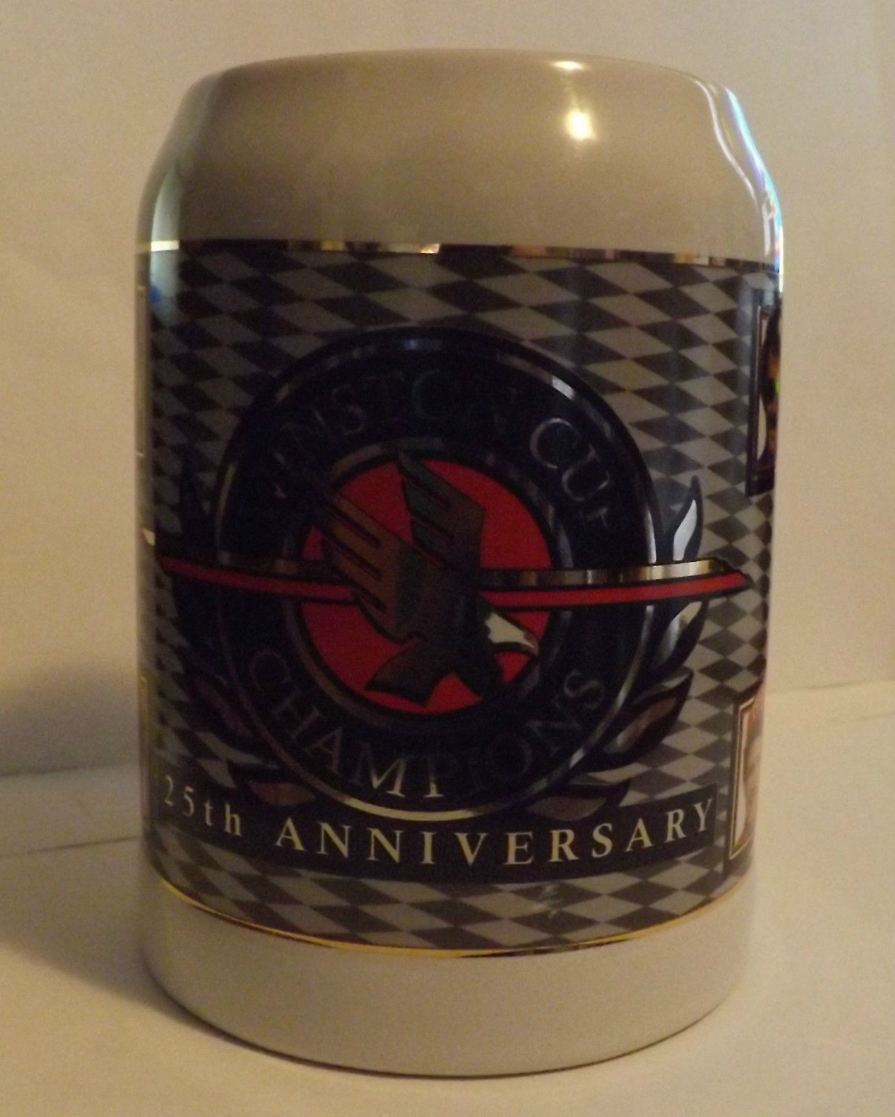Winston Cup Champions 25th Anniversary Collectors Stein