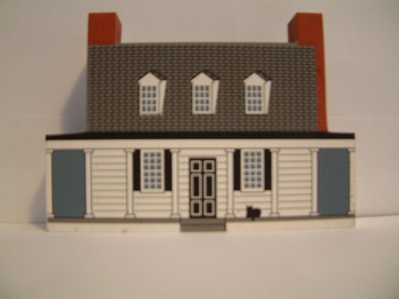 Cats Meow 1997 Civil War Collection Appomattox Manor 1997