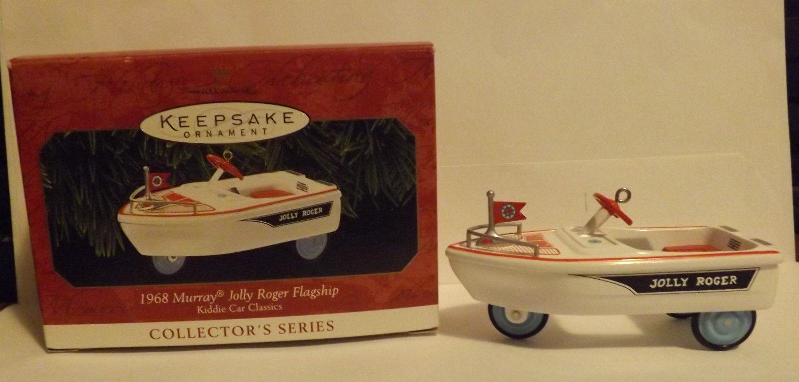 "Hallmark Keepsake Ornament 1999 ""1968 Murray Jolly Roger Flagship"" image 2"