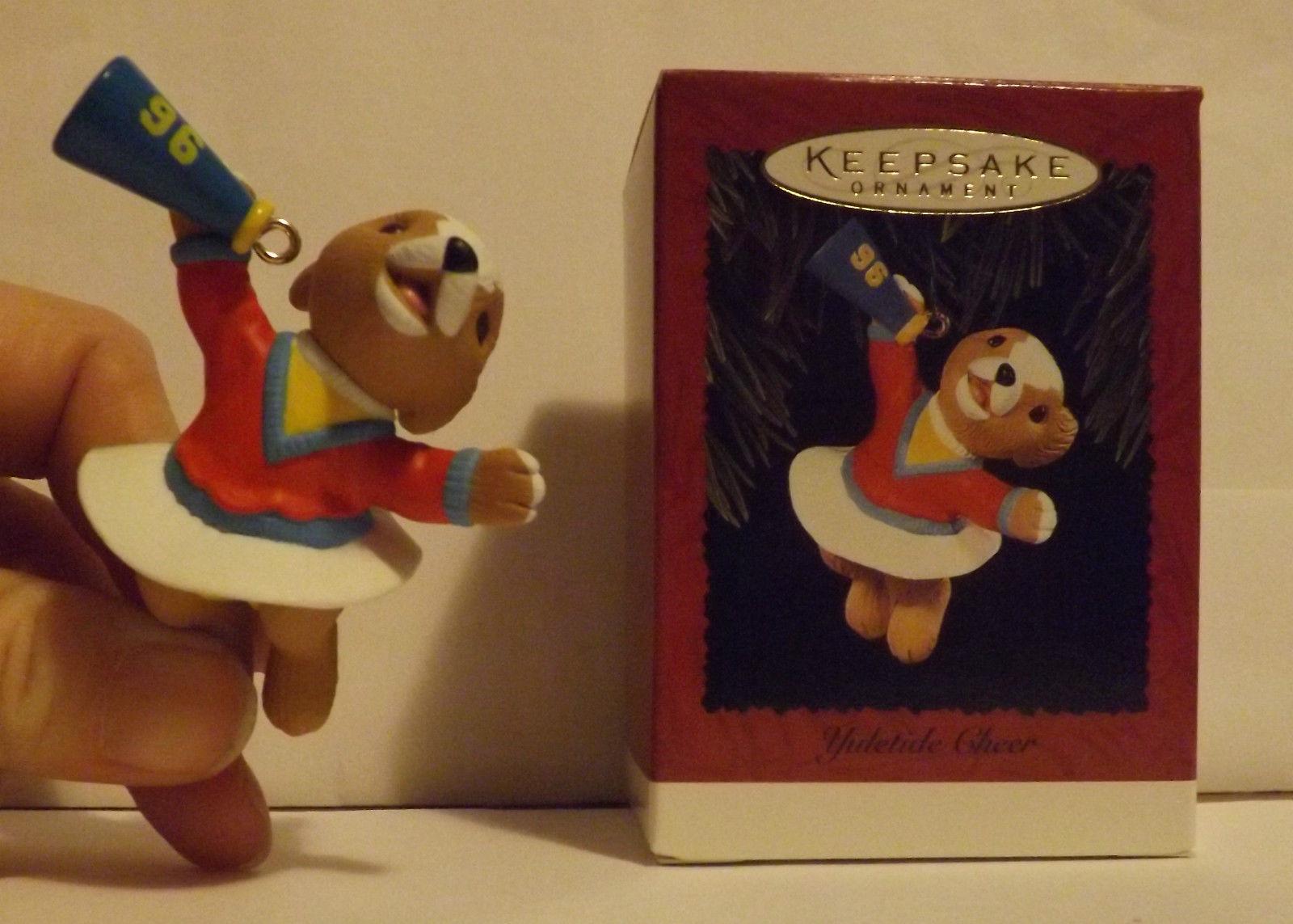 Hallmark Keepsake Ornament Yuletide Cheer 1996