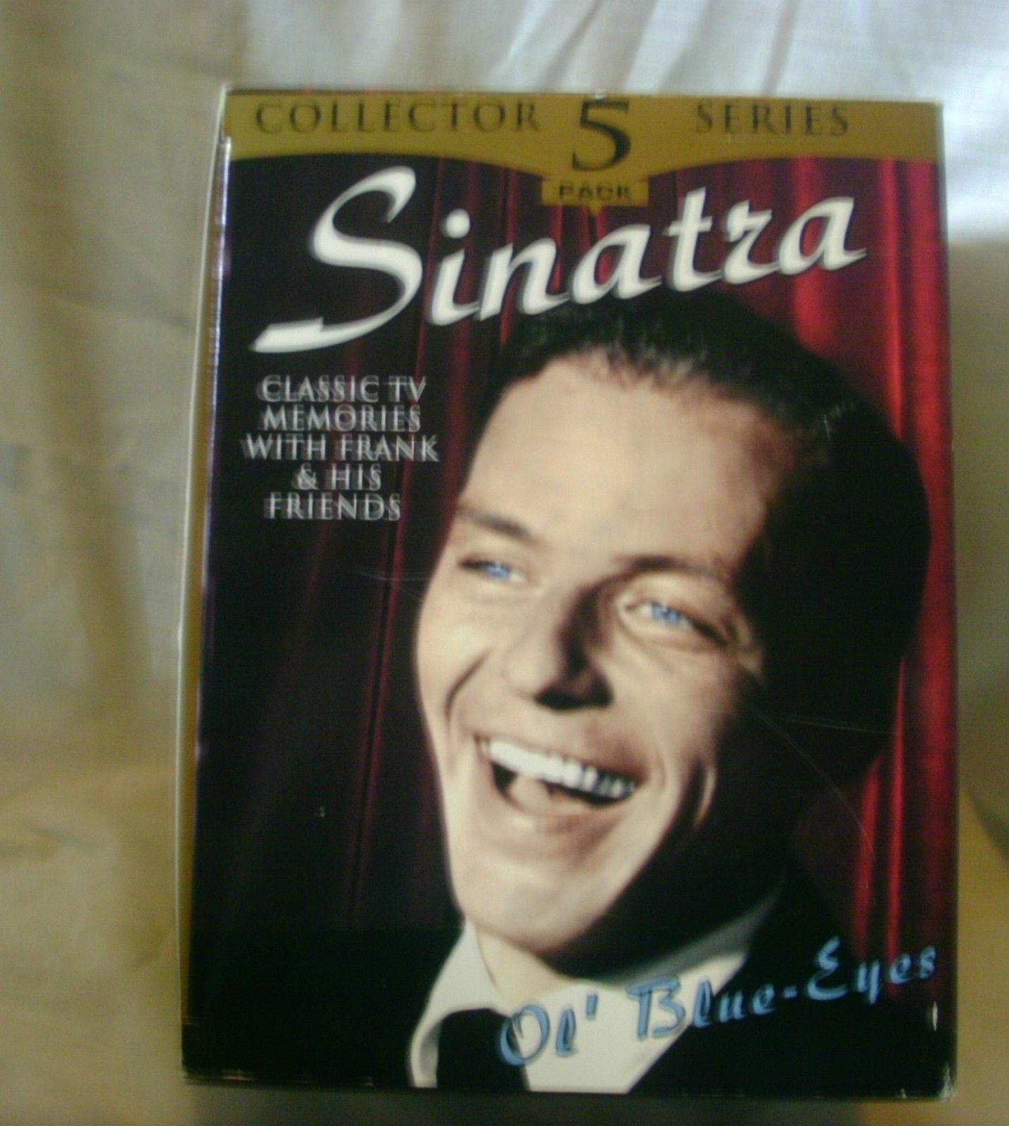 Frank Sinatra  Ol' Blue Eyes  Five VHS  Box Set 1999