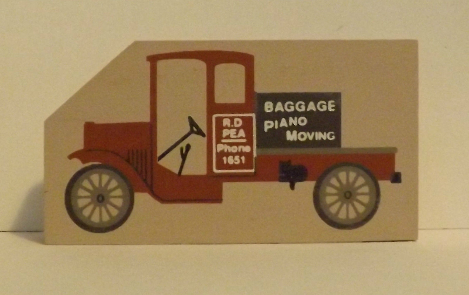 Cats Meow Accessory Moving Truck 1994