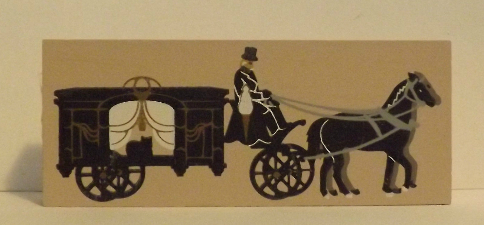 Cats Meow Accessory Horse Drawn Carriage 1995