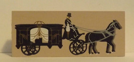 Cats Meow Accessory Horse Drawn Carriage 1995 image 1
