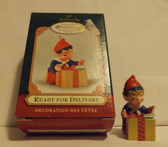 Hallmark Keepsake Ornament Ready for Delivery 2001 Collector's Club image 2