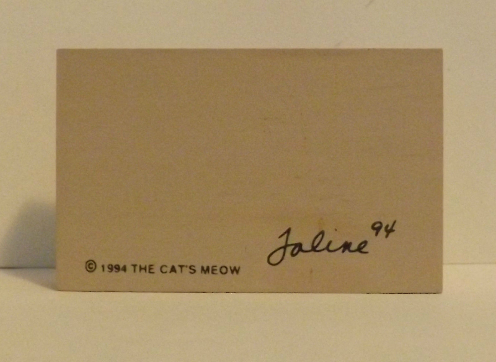 The Cats Meow Village Accessory Colonial People 1994 image 2