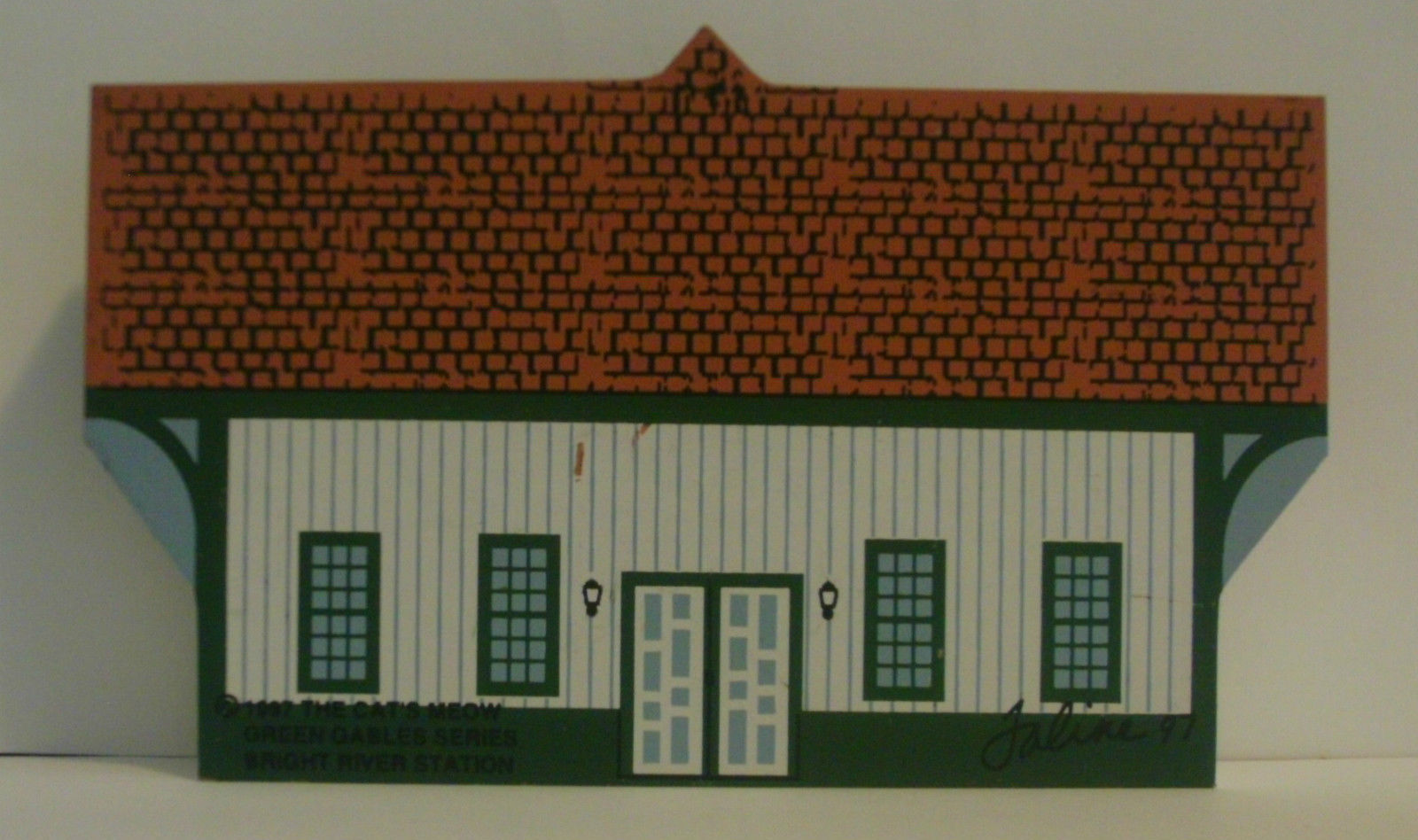 Cats Meow 1997 Green Gables Series Bright River Station image 2