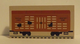 Cats Meow Accessory Train Box Car 1994 image 1