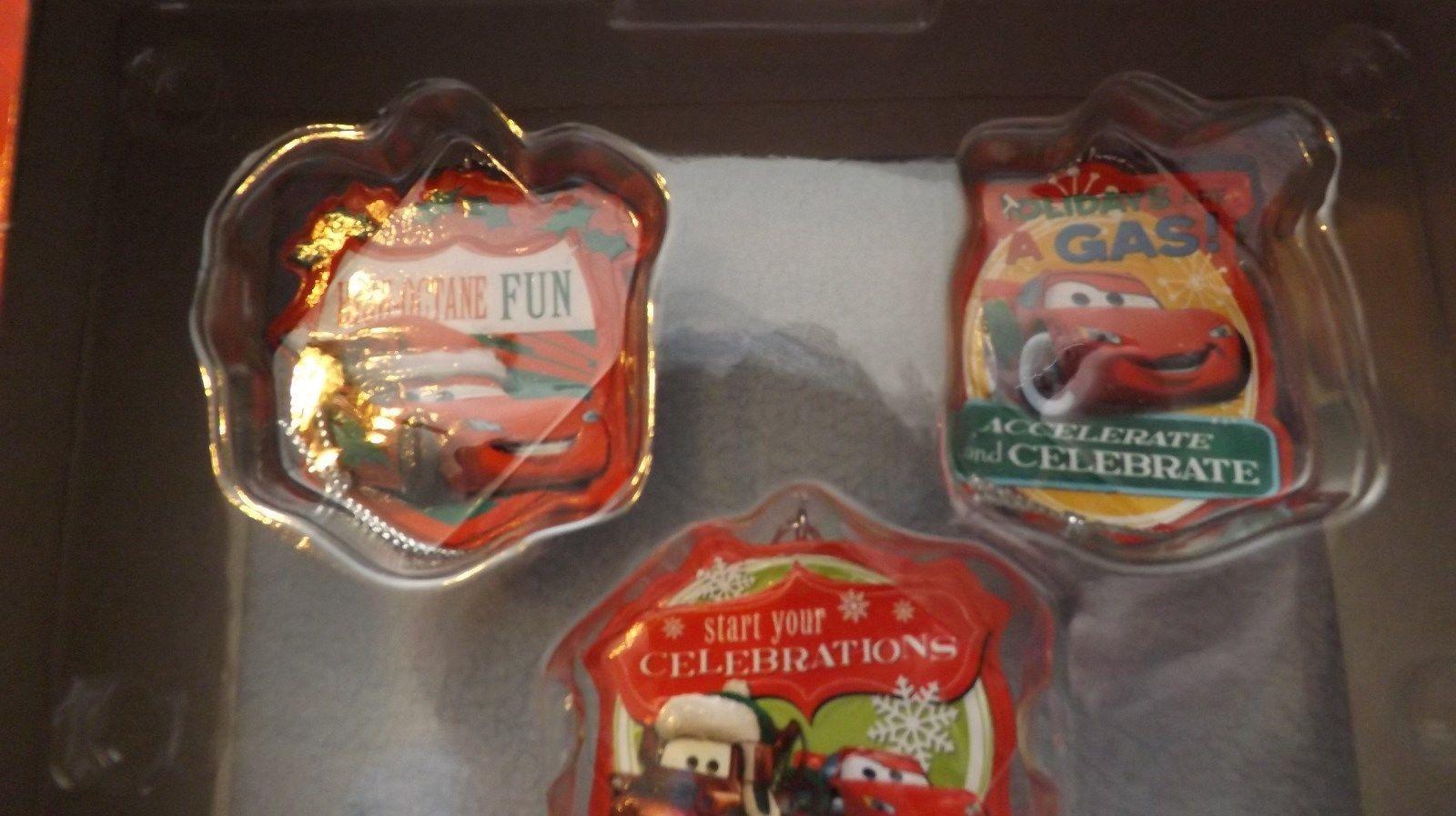 Disney Cars 5 Piece Mini Ornament Set