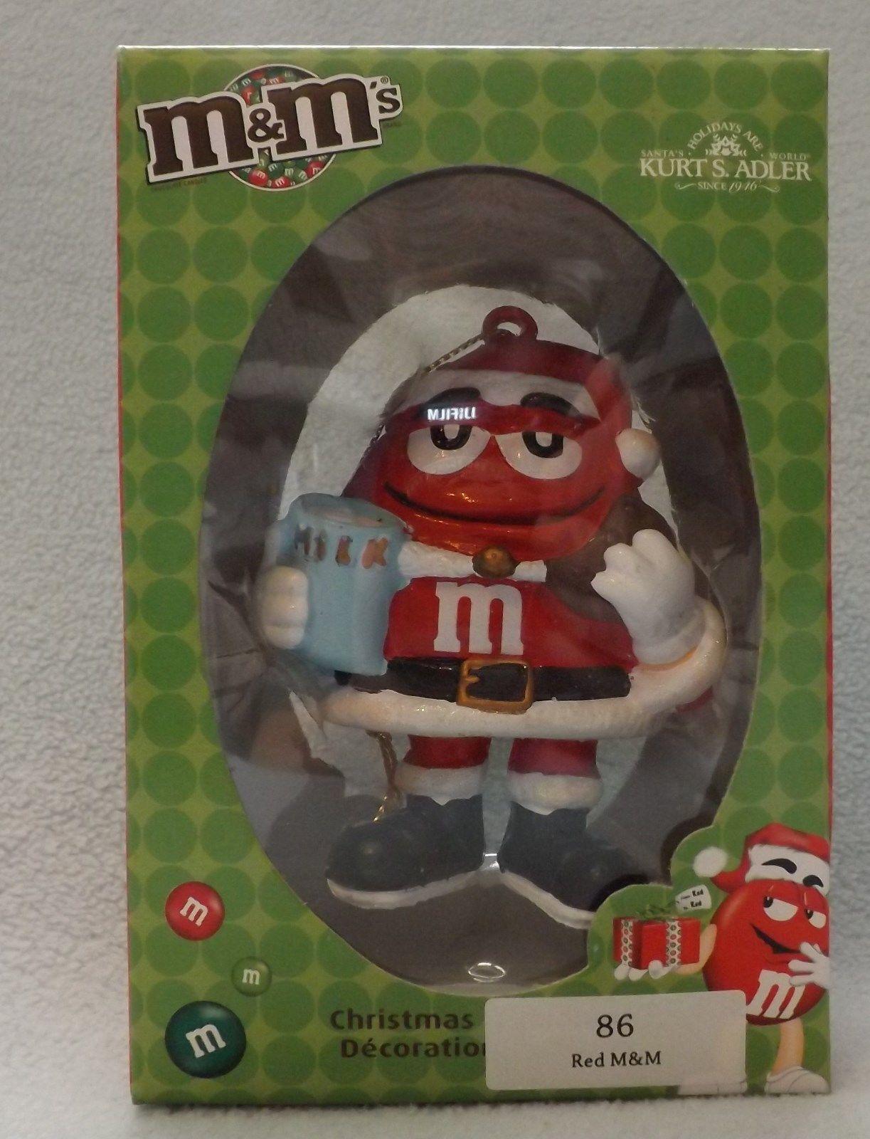 "M&M Red Elf 4"" Ornament by Kurt S Adler"