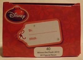 "Disney 3"" Winnie the Pooh 3D Figural Resin Ornament image 2"