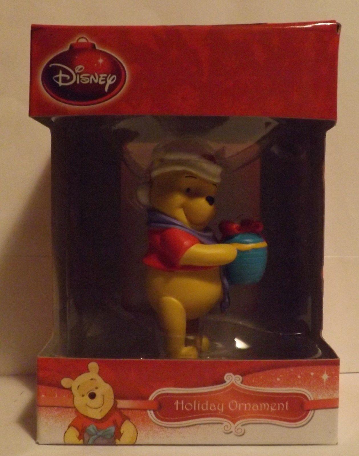 "Disney 3"" Winnie the Pooh 3D Figural Resin Ornament"