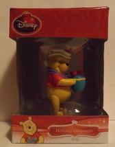 "Disney 3"" Winnie the Pooh 3D Figural Resin Ornament - $14.99"
