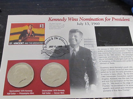 Kennedy Wins Nomination for President - $4.99