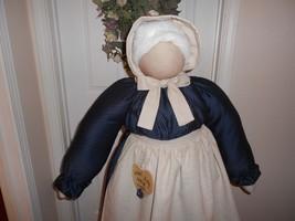 Vacuum Cleaner Cover Primitive Amish Faceless Folkart Grandma image 2