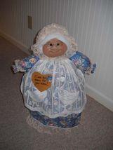"Soft Sculptured 23"" Free Standing Grandma Autumn Harvest Blessings Fall Pumpkins image 5"