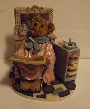 Boyds Bear Resin Figurine Tressa Bouffant...Work in Progress image 1