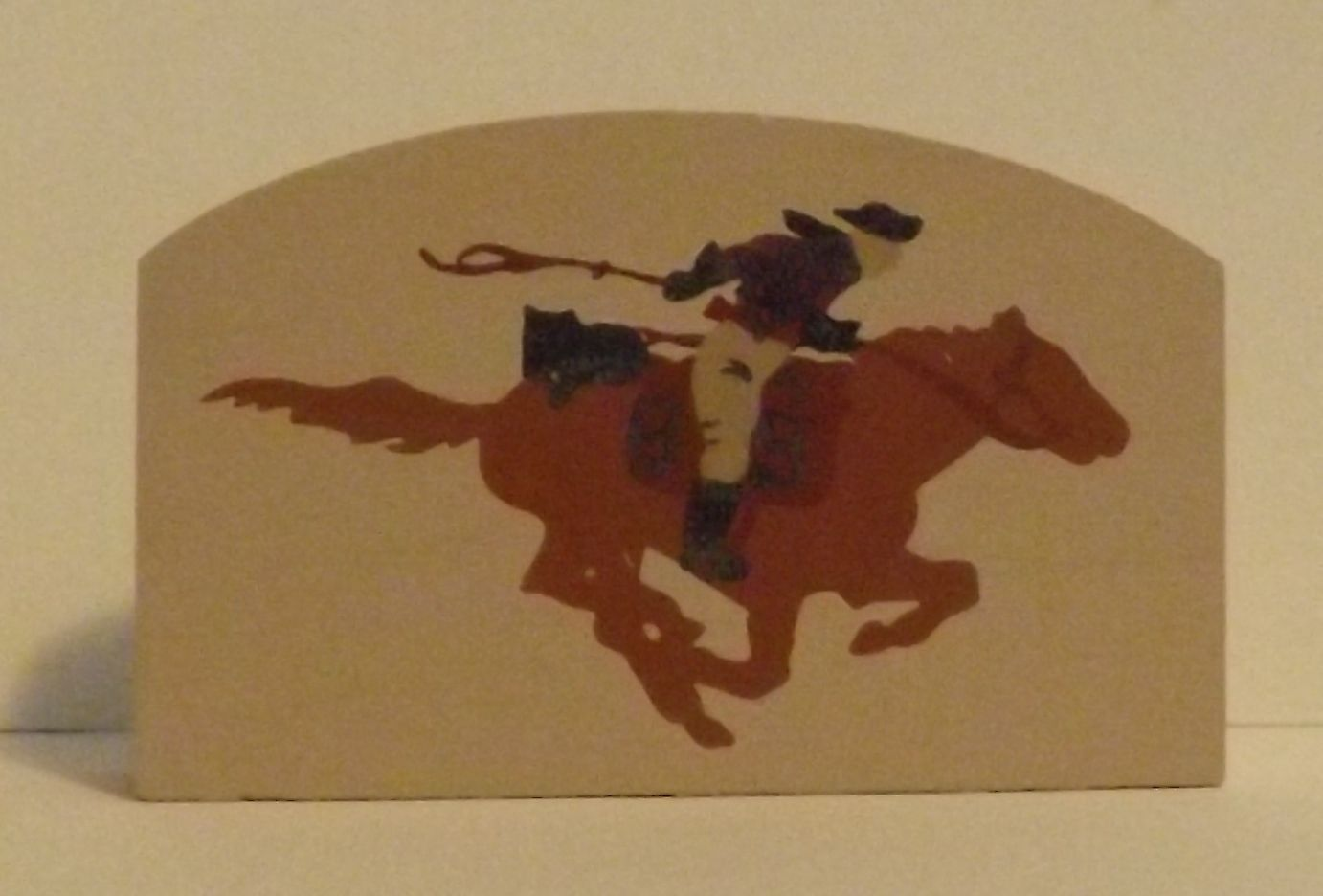 Cats Meow Accessory Man Riding a Horse