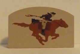 Cats Meow Accessory Man Riding a Horse image 1